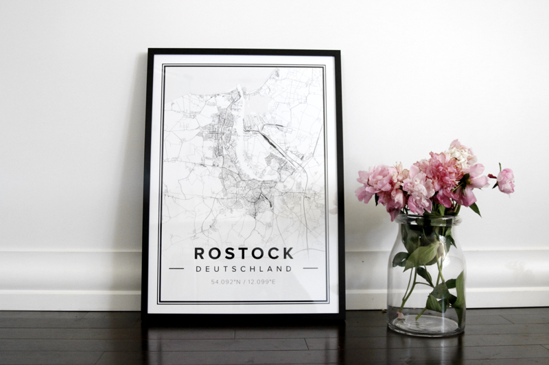 Mapiful Poster Rostock