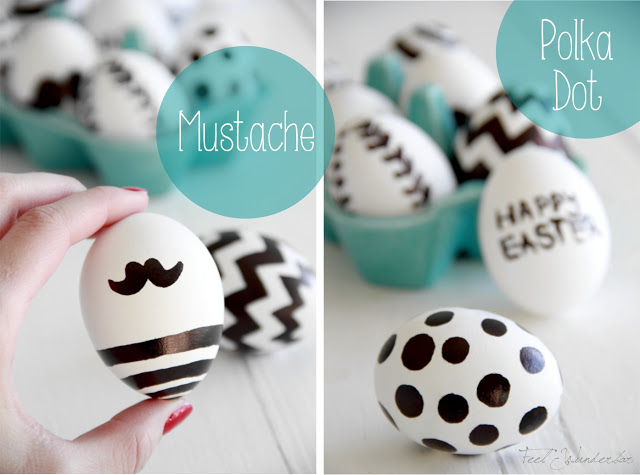 diy easter decorations eggs feel wunderbar. Black Bedroom Furniture Sets. Home Design Ideas