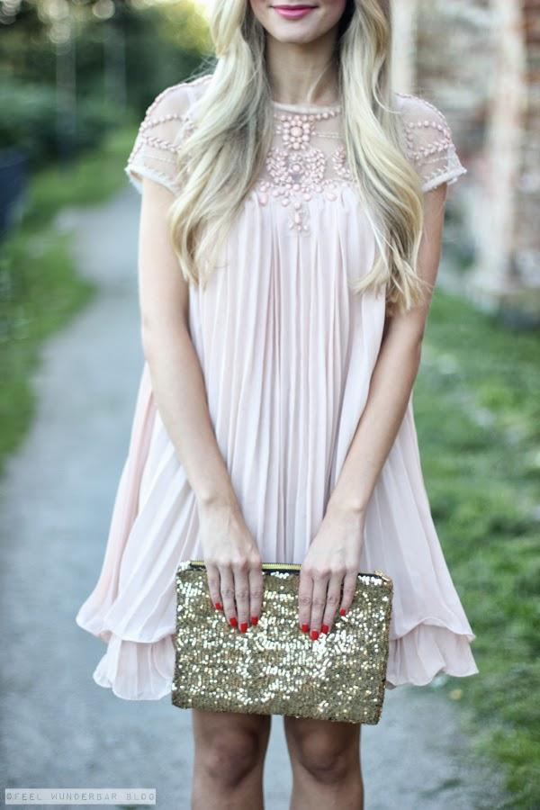 All dressed up... Light Pink & Sequins! | Feel Wunderbar