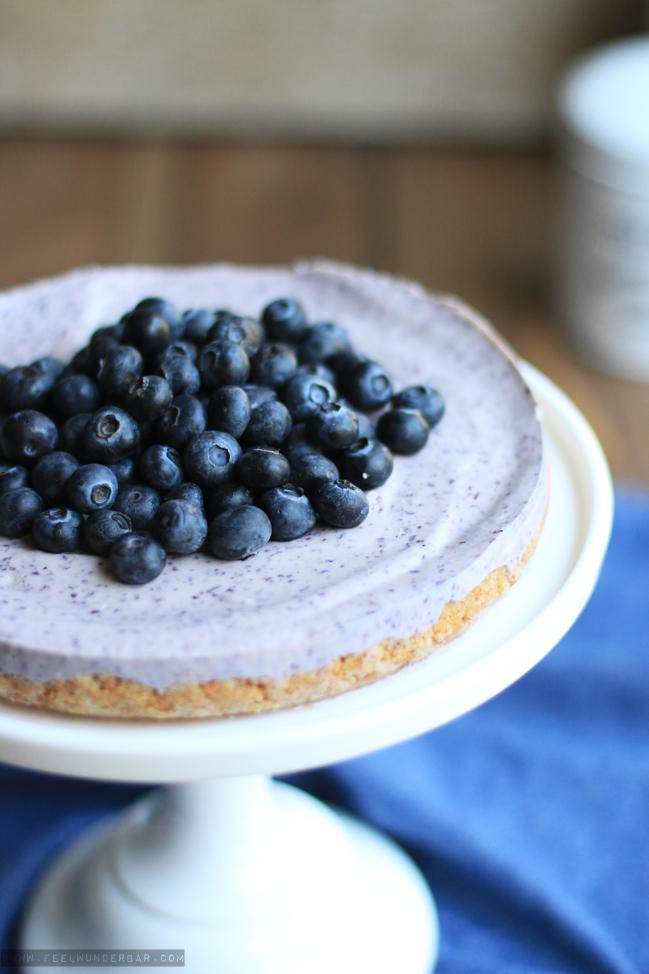 feel wunderbar blaubeer cheesecake ohne backen rezept blueberry cheesecake no bake blogger 1. Black Bedroom Furniture Sets. Home Design Ideas