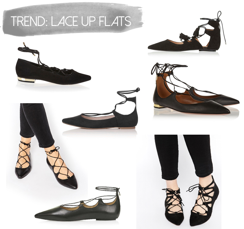 Trend Lace Up Flats