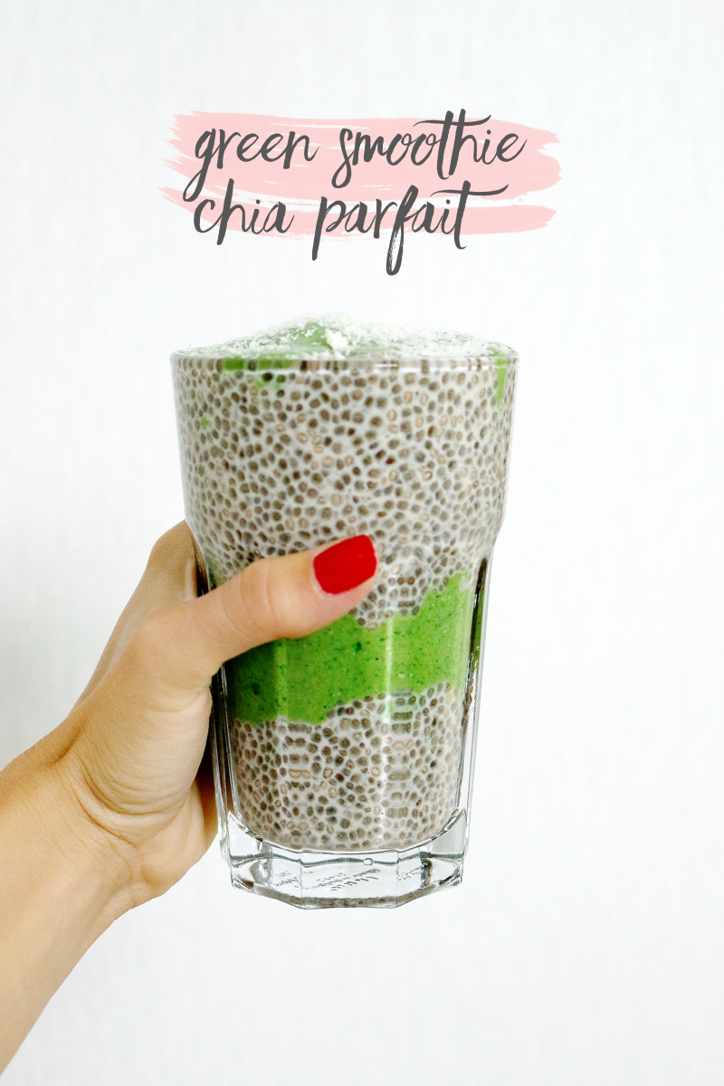 Recipe Green Smoothie Chia Parfait 2