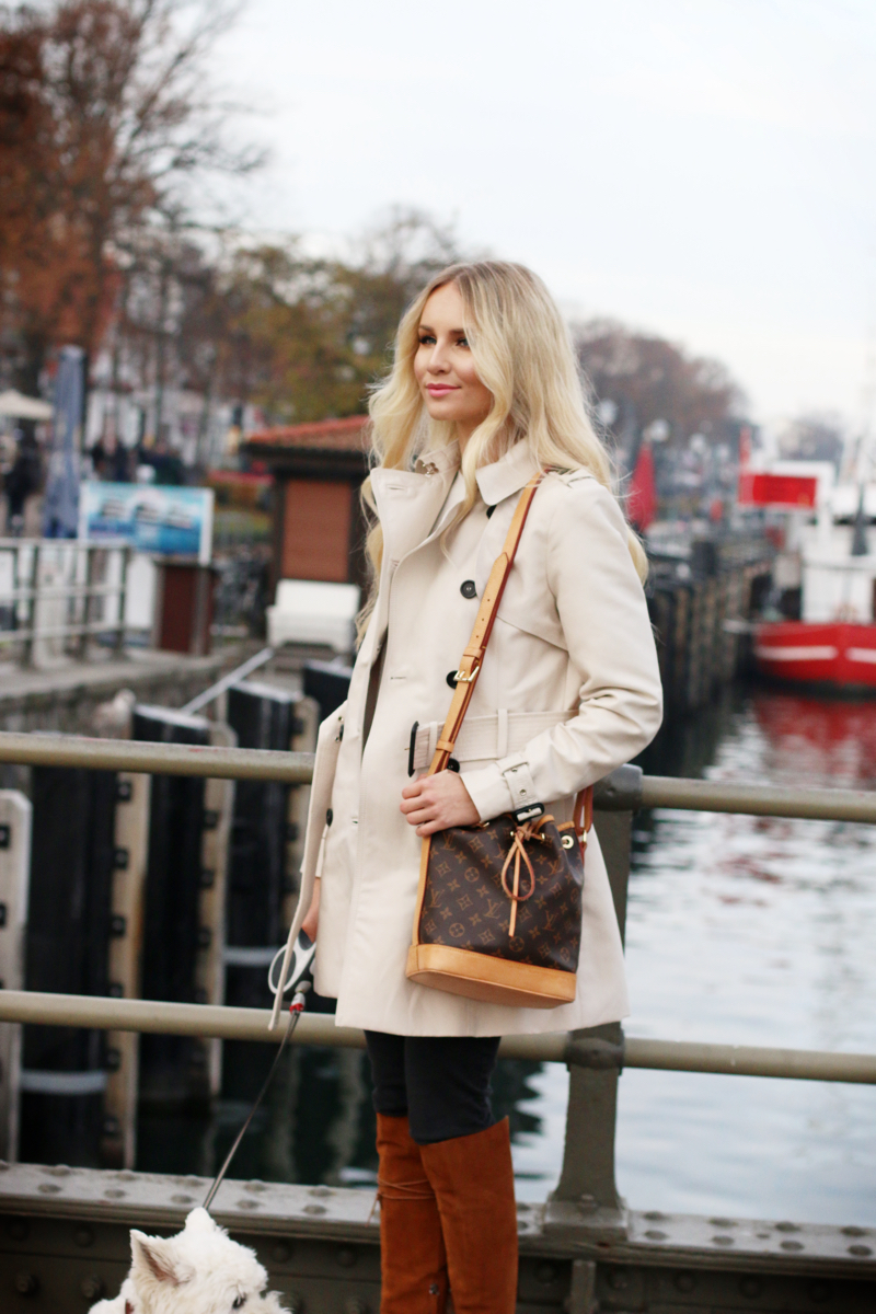 A Day By The Harbour Zara Trench Coat Feel Wunderbar