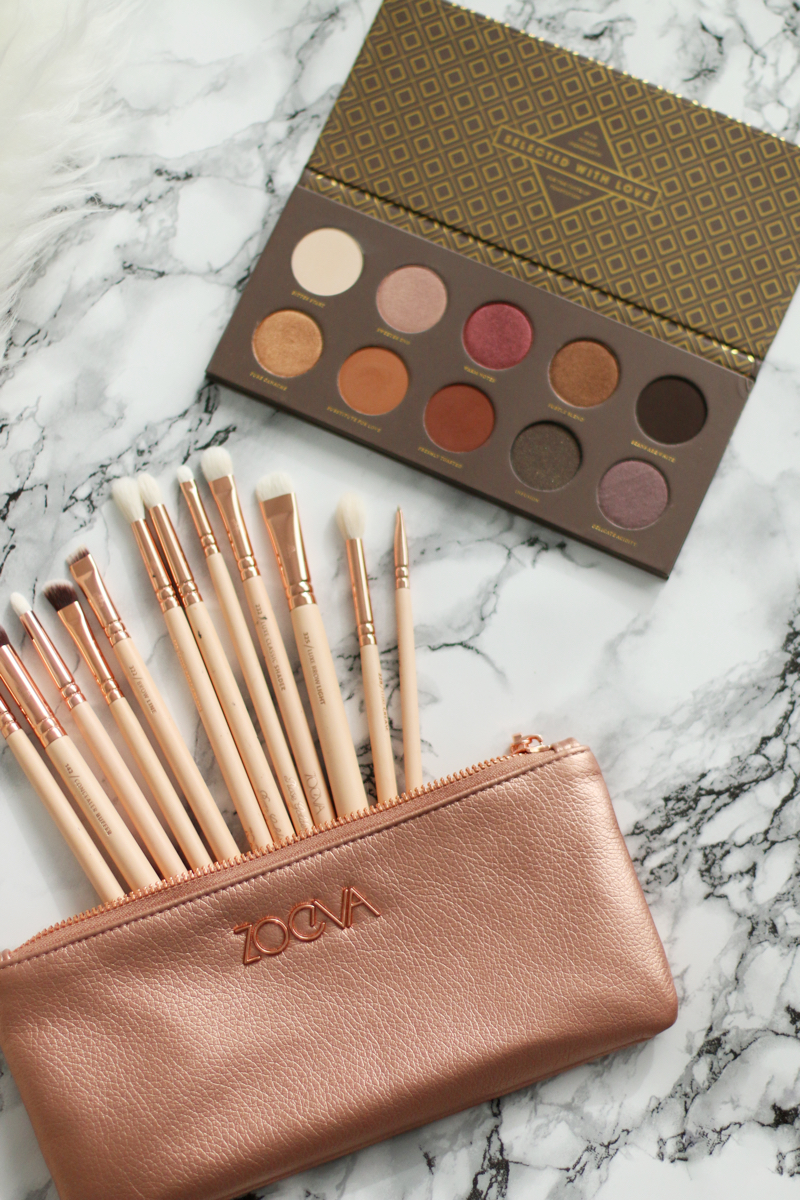 Zoeva Rose Gold Complete Eye Set & Cocoa Blend Palette 6