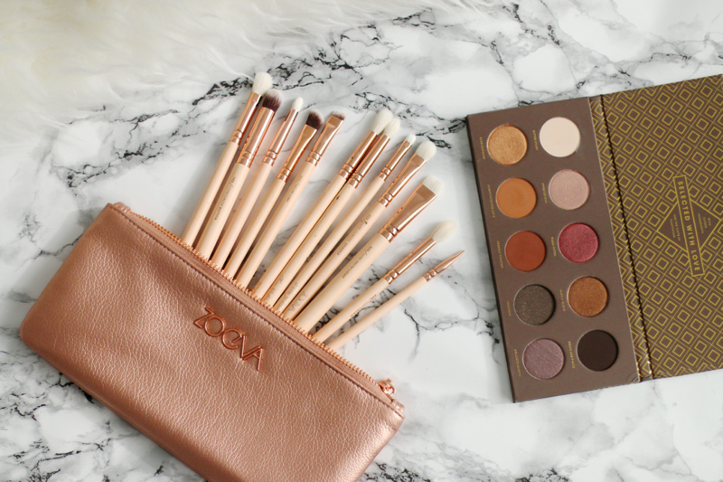 Zoeva Rose Gold Complete Eye Set & Cocoa Blend Palette