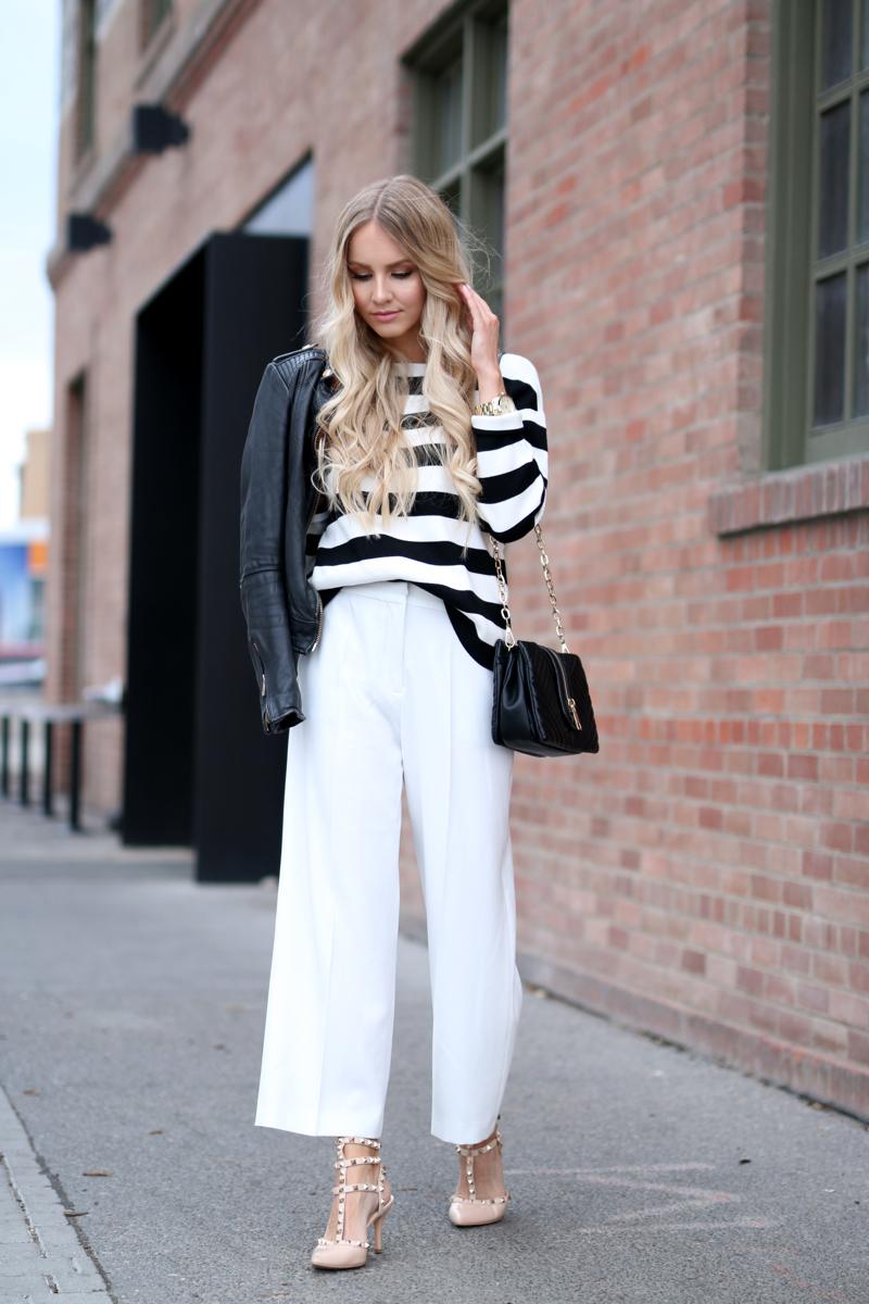 Zara White Culottes 6