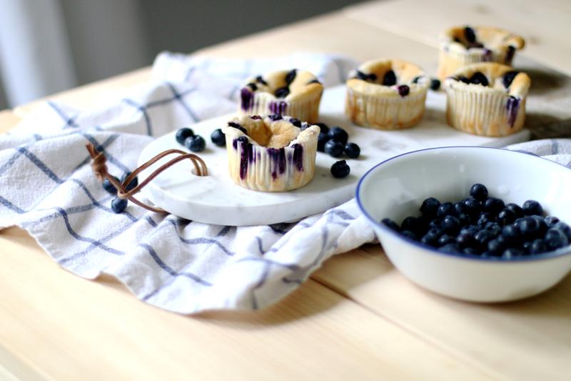 Quark Vanille Muffins mit Blaubeeren 2