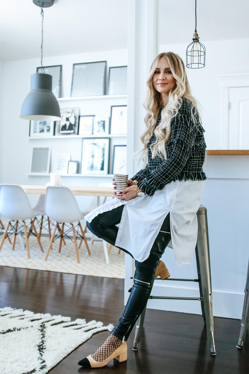 874634a02e Outfit meets Interior Zara Sale Tweed Top-5 | Feel Wunderbar