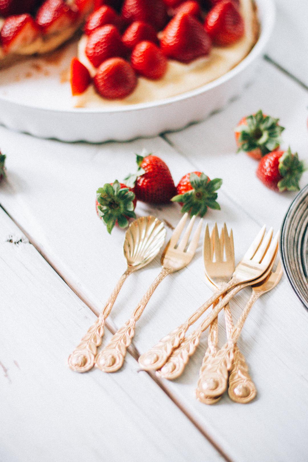 Add A Pinch Strawberry Cake