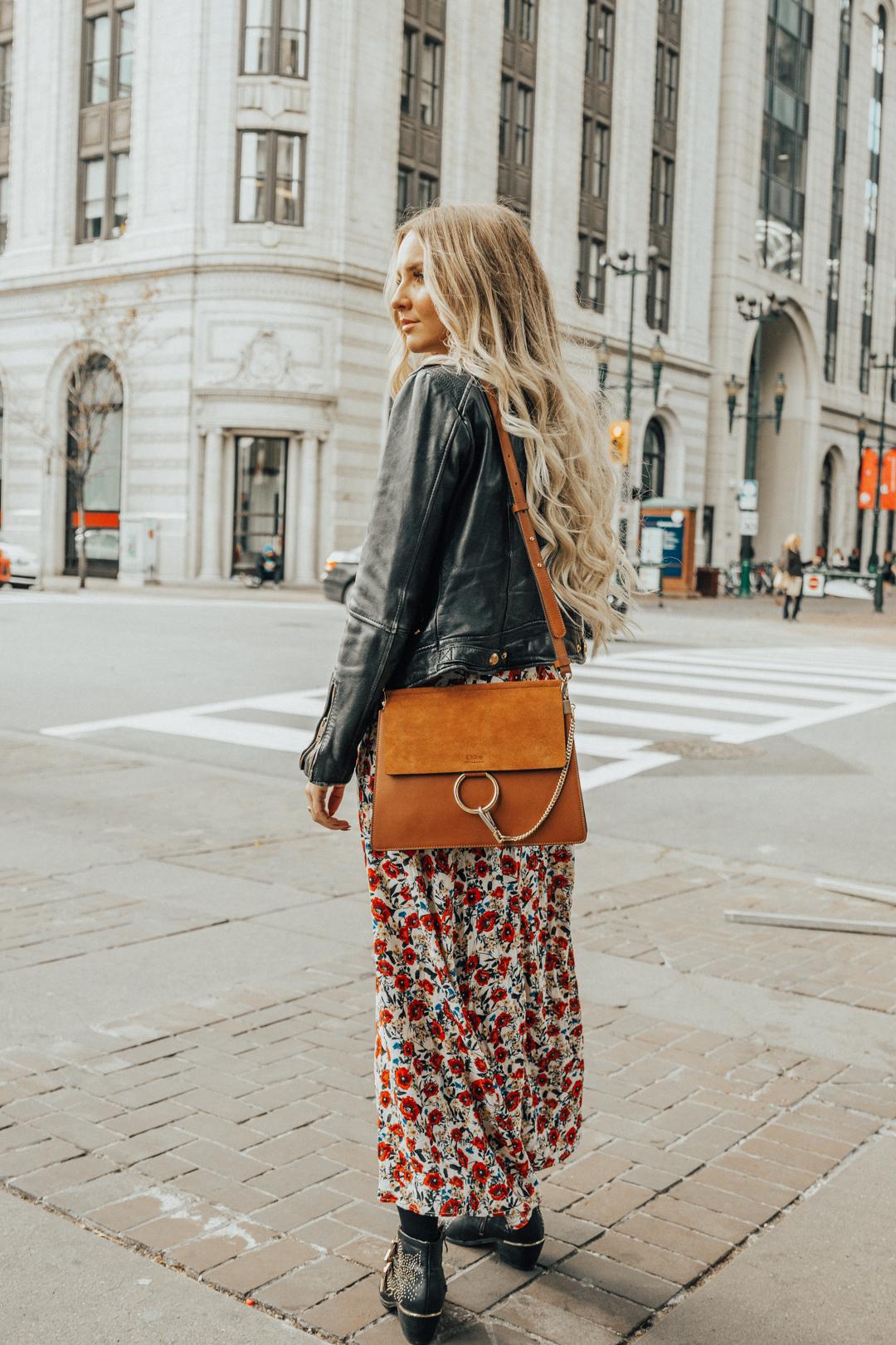eb5ec9d0770 Outfit  Maxi Dress Love   Bag Talk with Fashionette.de